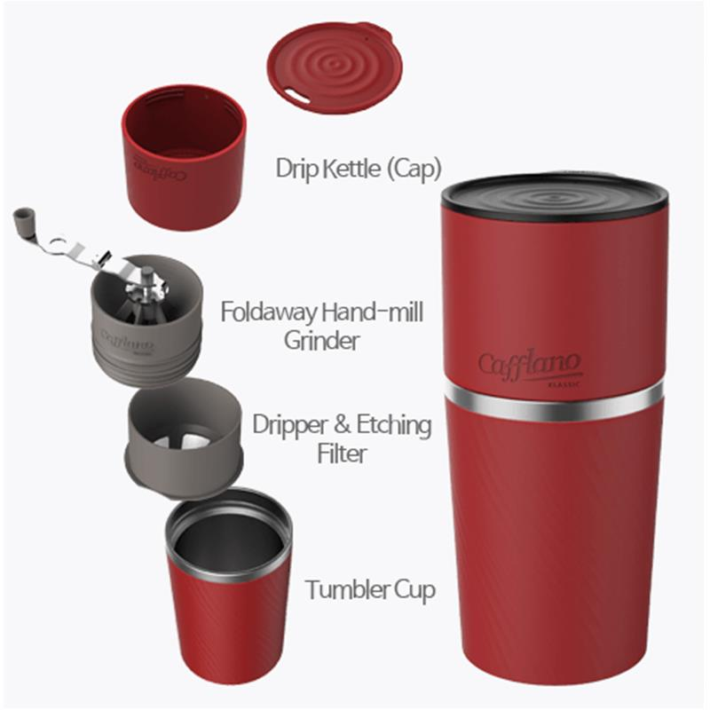 Cafflano Klassic Portable All-In-One Pour Over Coffee Maker