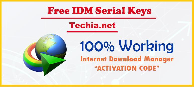 Free IDM Activation Keys